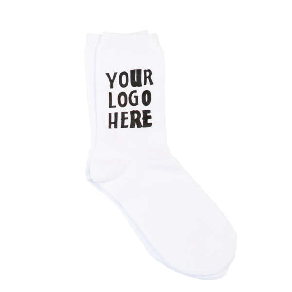 Add your logo sock printing